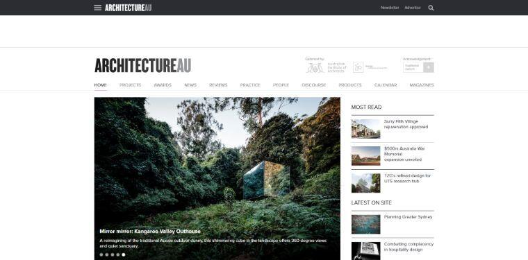 The 42 Best Architecture Websites In The World 2020 Vanity Projects